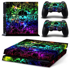 2485# New Full Body Decal Skin Sticker For PlayStation 4 PS4 Console+Controllers