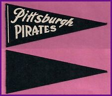 VINTAGE Pittsburgh Pirates Baseball Pennant! 1950's WOW!!