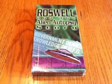 ROSWELL And The ALIEN AUTOPSY STORY VHS Documentary (Brand New)