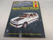 VW VOLKSWAGEN GOLF JETTA 1993-1998 93-98 Haynes MANUAL # 96017 ISBN # 1563924331