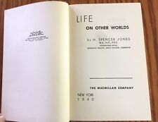 Life on Other Worlds by H. Spencer Jones 1st edition (1940)