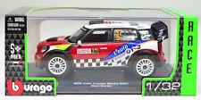 MINI- JOHN COOPER WORKS WRC #37 Dani Sardo échelle 1:3 2 PAR BBURAGO