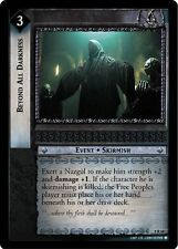LoTR TCG Siege of Gondor Beyond All Darkness FOIL 8R68