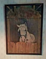 """Oil Painting All  Original 1939 signed G.H. Ritterson """"Pals"""" Charming well done"""