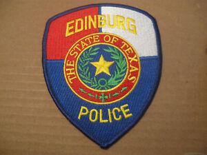 EDINBURG TEXAS POLICE PATCH