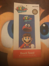 Super Mario: Odyssey ~ Beach Towel w/Tag ~ 100% Cotton