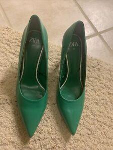 Zara Green Pumps Size 9US /40EU
