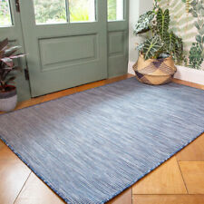 Navy Blue Outdoor Rug Plastic Washable Rugs Water Resistant Garden Patio Mats