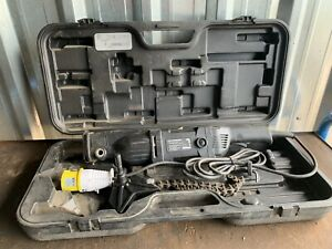 Rothenberger Rotiger Vario Electronic 110v Pipe Cutter Saw & Chain Vice