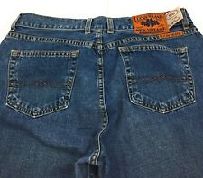 Lucky Brand 18U JJ Flare Low Rise 100% Cotton USA Blue Jeans Women's 10/30