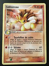 Carte Pokemon SABLAIREAU 21/100 Rare bloc ex Française (star, booster)