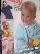 Diana Baby German Knitting Magazine #81-38 Designs For Babies 50-98