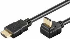 CABLE HDMI-HDMI ACODADO ALTA VELOCIDAD c/ ETHERNET CONECTORES GOLD 1,2,3 o 5 m.