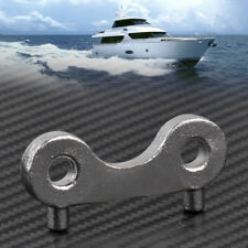 Stainless Steel Fuel Gas Water Tank Deck Fill Waste Cap Key Plate Boat Marine