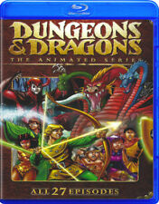Dungeons & Dragons COMPLETE 1-27 ~ Blu-Ray ~ 80s Cartoon TV Series RPG Game