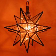 Oriental Lámpara Colgante nasima sternlampe Estrella XL