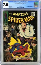 S424 AMAZING SPIDER-MAN #51 Marvel CGC 7.0 FN/VF (1967) 1st COVER App of KINGPIN