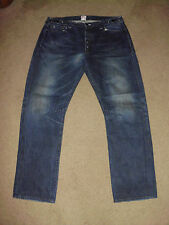 PRPS Men's 38 x 31 IMPALA DARK AGED Straight Leg Made in Japan Jeans P39 P17C 01