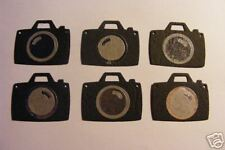 6 Camera Photo SLR/Digital Photography Shoot Die Cuts (Scrapbook/Cards)
