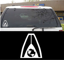 Mass Effect Systems Alliance Decal Sticker for Window, Xbox 360 & more!
