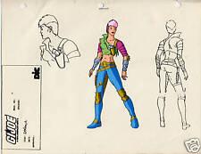 G.I. Joe Cobra Zarana Model Cel Art 80-90's Cartoon 1990 Dic Animation City