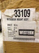 NEW Western Snow Plow Ultra-Mount Mitsubishi 2005 - 2011 truck mount 33109
