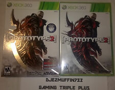 NEW PROTOTYPE 2 + SLIP COVER (LIMITED RADNET EDITION) XBOX 360