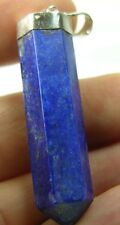 #4 58.90ct Afghanistan 100% Natural Lapis Lazuli Crystal Pendant 11.75g 44mm