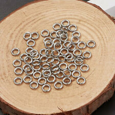 304 Stainless Steel Closed but not Soldering Jump Rings Necklace Earring Finding