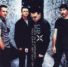 (-0-) Rare U2 Stuck in a moment You Can't Beautiful Day cd single (-0-)
