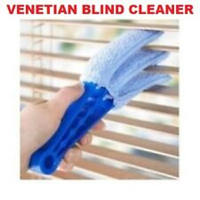 3 PRONGED VENETIAN BLIND CLEANER CLEANING TOOL BRUSH DUSTER BLINDS MICROFIBRE