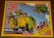 "1990 ** Jigsaw Puzzle 2 ** 15"" X 11"" 150 pièces Teenage Mutant Ninja Turtles TMNT"