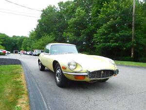 1971 Jaguar Series III V-12 E-type 2+2 Coupe