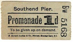 Pier entrance ticket: Southend Pier