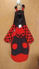 Lady Bug Bunting Baby Halloween Costume 0-6 Months Red/Black Keep Baby Warm