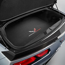 2017 C7 Corvette Genuine GM Black Premium Coupe Rear Cargo Mat Grand Sport Logo