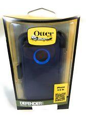 OtterBox Defender Series Case, iPhone 5/5s, Ocean Blue/Admiral Blue,OEM,Open Box