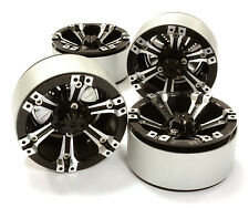 C26616BLACK Integy 1.9 Size Billet Alloy 6D Spoke Wheel(4)High Mass for Crawler