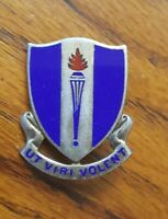 WW2 US Army Air Forces USAAF ADVANCE FLYING SCHOOL Training DUI Pin Sterling