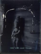 "Antique Vintage Glass Negative ""Idol King Johns Palace"" Late 1800s 10.5cm x 8cm"