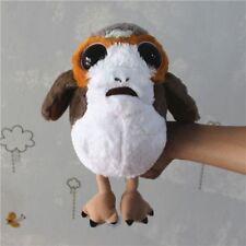 "2017 Star Wars The Last Jedi 10"" Deformed Soft Plush Porg Bird Toy Doll Kid Gift"