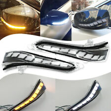 LED mirror sequential turn signal light+parking+puddle for infiniti Q50 Q60 Q70
