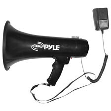 Pyle PMP43IN Megaphone Bullhorn PA Speaker with Siren Handheld Mic & 3.5mm Aux-I