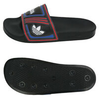 Adidas Originals Adilette Slides Sandals Slipper Black/Red/Blue/White EE6177