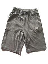 Boys grey jersey Nike Air Shorts Age 12/13