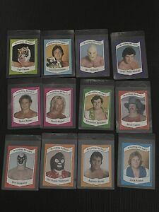 1983 Wrestling All Stars Series A | 12 Card Lot | VG - EX to Near Mint