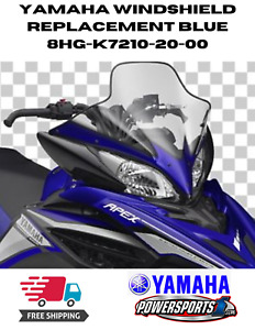 YAMAHA 2011-2016 APEX SNOWMOBILE REPLACEMENT WINDSHIELD BLUE 8HG-K7210-20-00