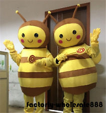 Bee Costume Professional Mascot Parade Halloween Party Unisex Fancy Dress Outfit