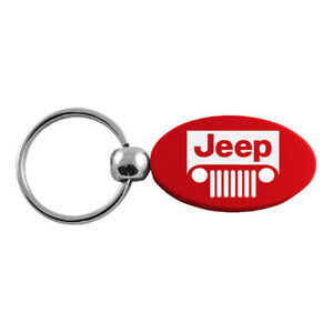 Grille Logo Oval Keychain for Jeep - AUGDP0861