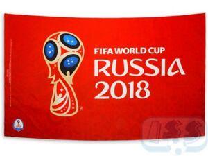 FWCR01 World Cup Flag! Officiaj Russia 2018 FIFA flags 90x150 cm!